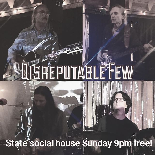 Tomorrow night at the State Social House on Sunset... it's free, we're on @ 9pm! Hope to see you there!! #mrzeus #randyraymitchell @paulillmusic @danpotruchondrums @marktremalgia #wedgiepicks #gogotuners