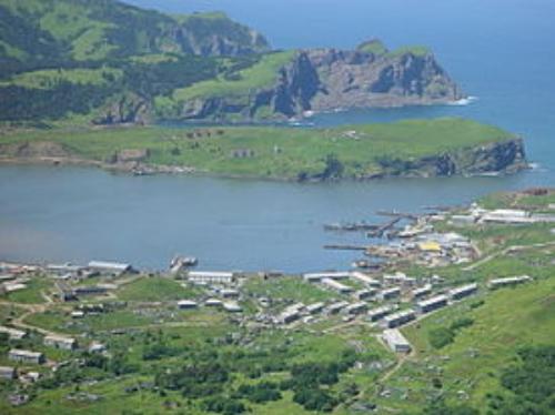 Main Russian Main Village in Shikotan, Kuril Islands (Надежда Голумбиевская)