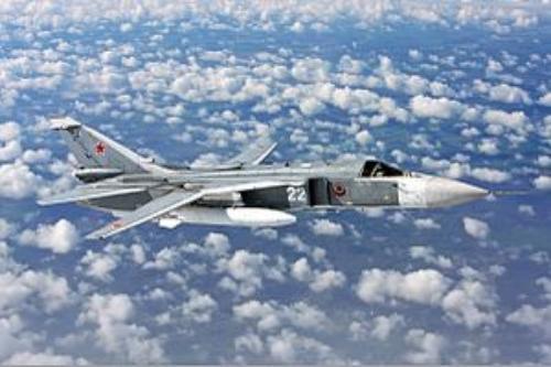 SU-24 fighter jet