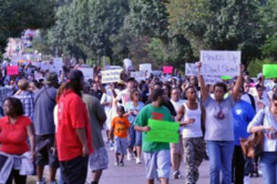 Ferguson Protestors (Loavesofbread)