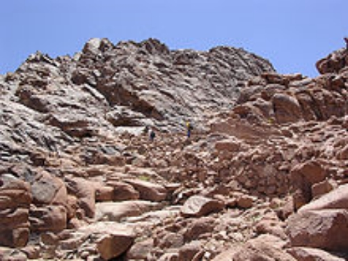 Top of Mt. Sinai