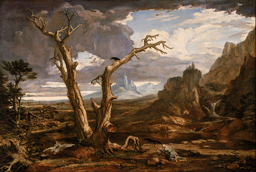 """  Elijah in the wilderness """