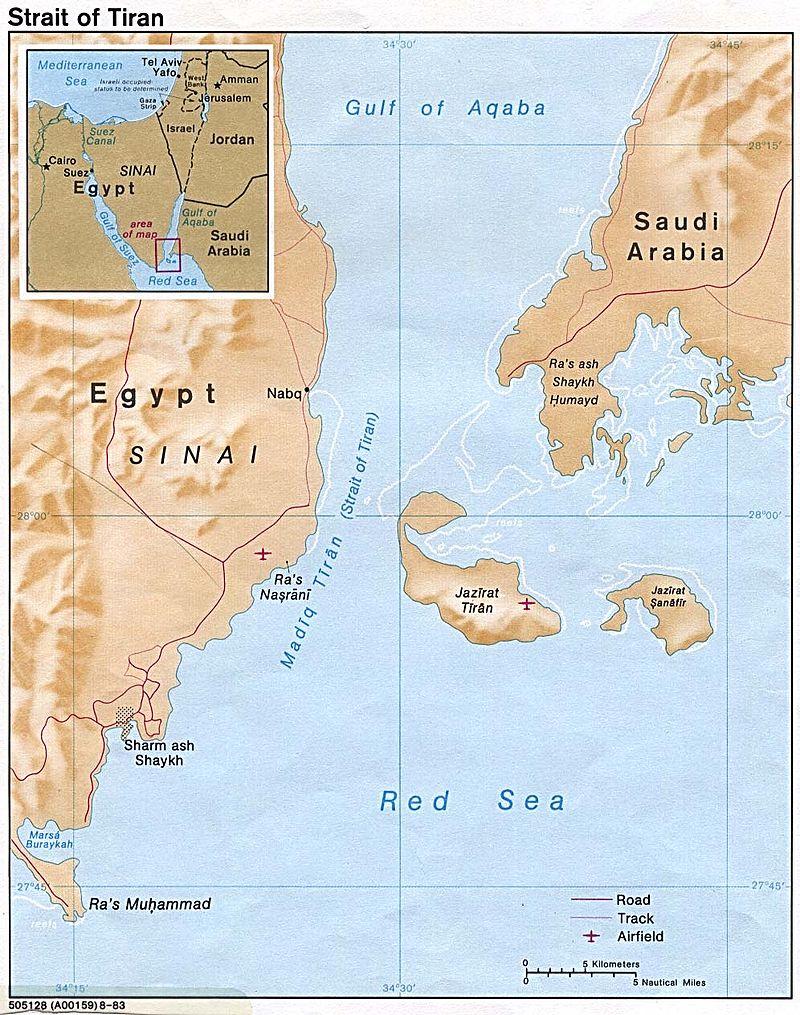 The Islands of Sanifir and Tiran