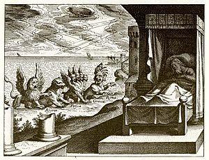 Depiction of Beasts of Daniel 7