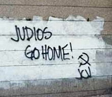 Anti-Semitic graffiti in Europe