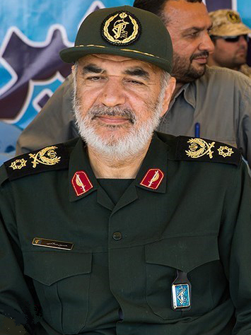 Hossein Salami (photo by Hossein Zohrevand)