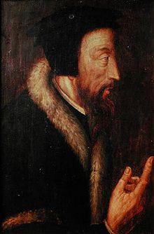 John Calvin, 16th Century Portrait