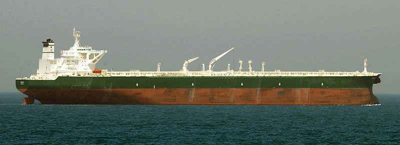 Oil Supertanker (US Navy photo)