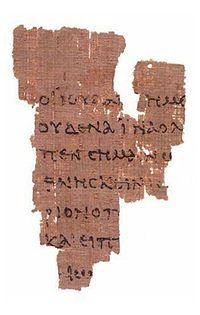 Ryland's P. 52 section of John 18:31-33 (Wikipedia)