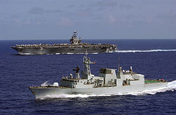 A US naval conflict with Europe is prophesied