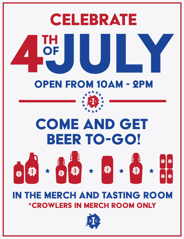 4th of july 2018 at institution ale company