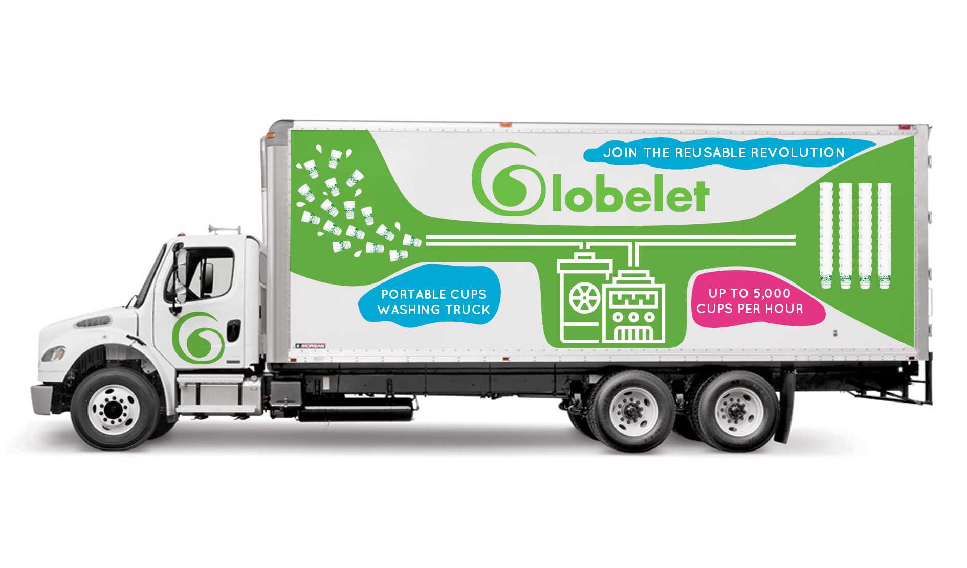 Globelet Mobile Washing Truck