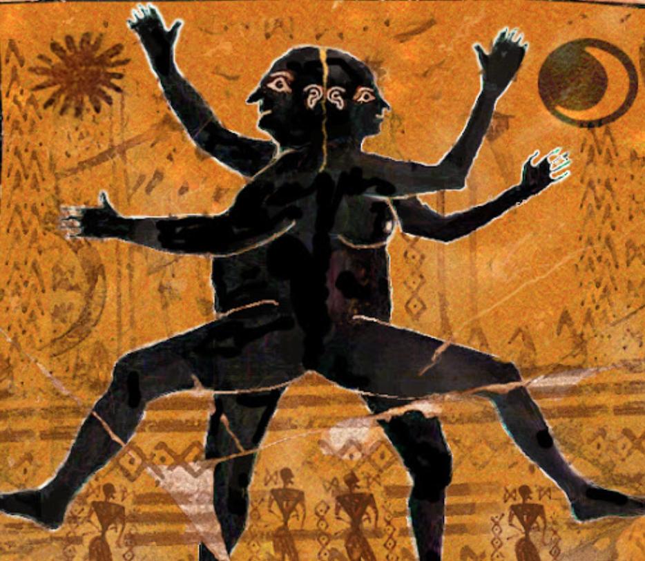 Illustration: Aristophanes Speech