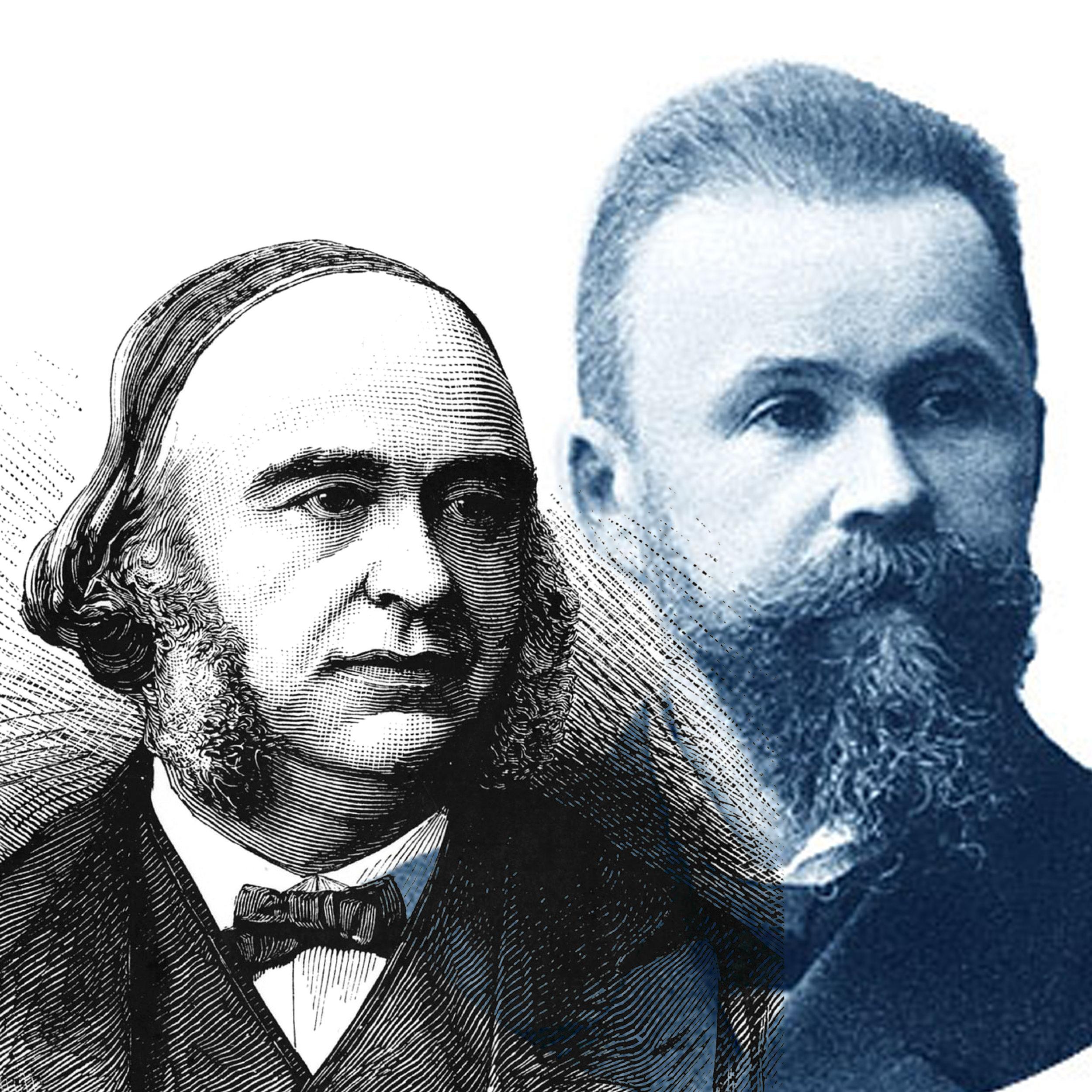 Paul Broca and Carl Wernicke