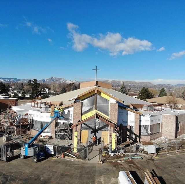 Making progress with this warm weather! #Construction #builder #craftsmanship #quality #🇺🇸 #catholic