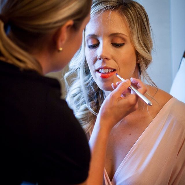 Another great shot from the talented @colsongriffith Doing my thang on one of the bridesmaids! #sfbridalmakeup #sfmakeupartist #bridalmakeupartist