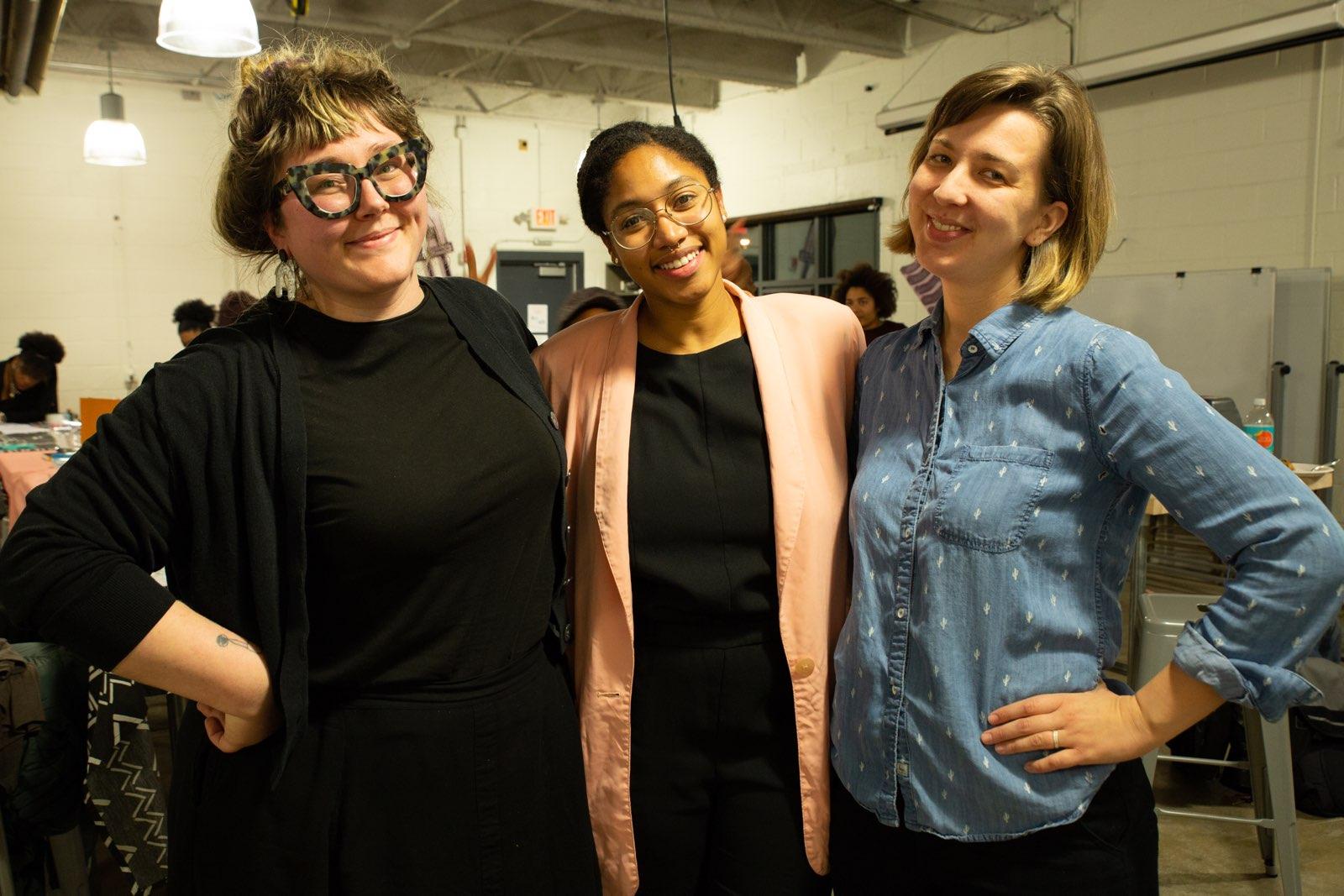 Prototype staff: Louise Larson, Bryanna Johnson, Erin Gatz