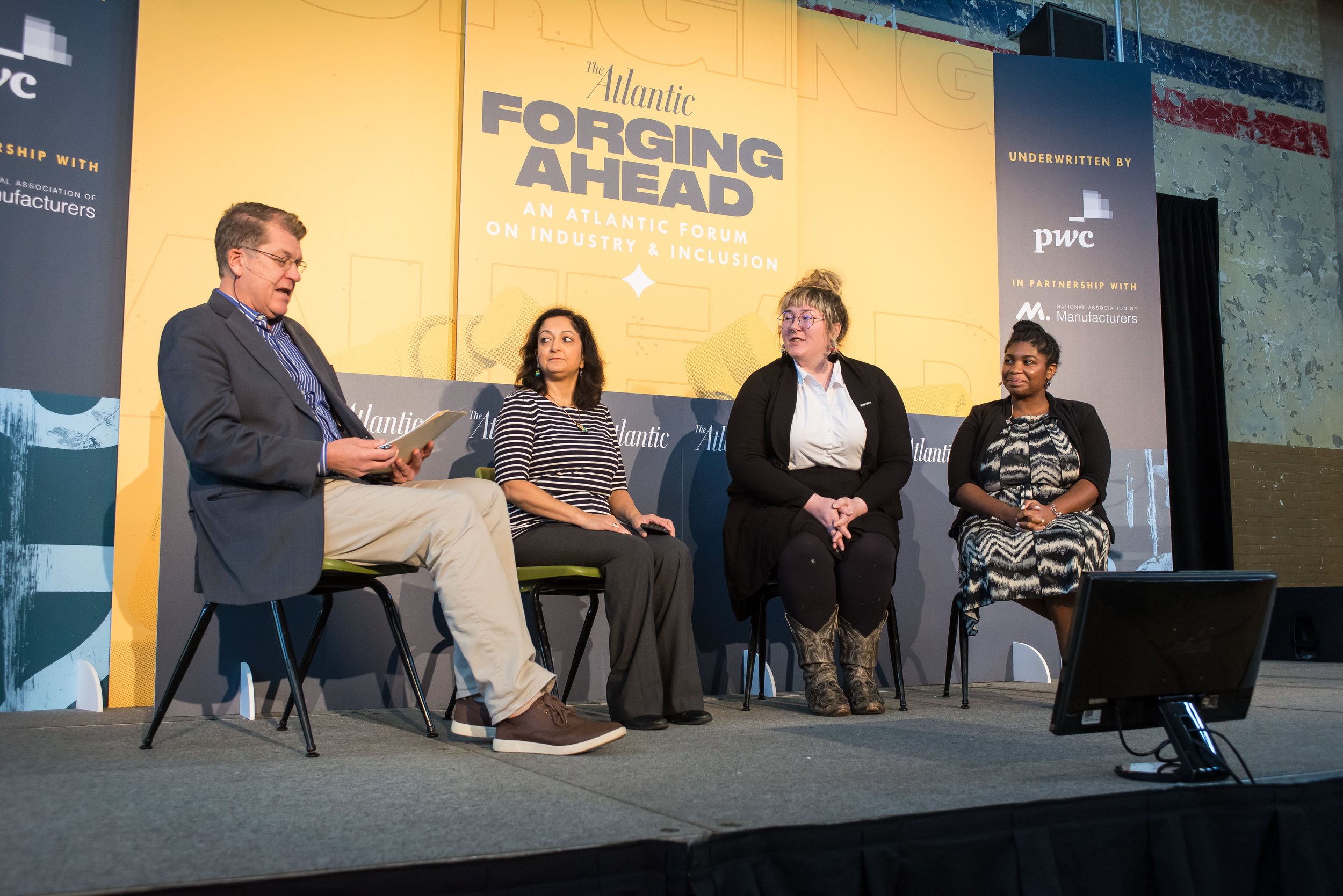 """ Forging Ahead: An Atlantic Forum on Industry & Inclusion ""  The Atlantic: Live  October 2018"