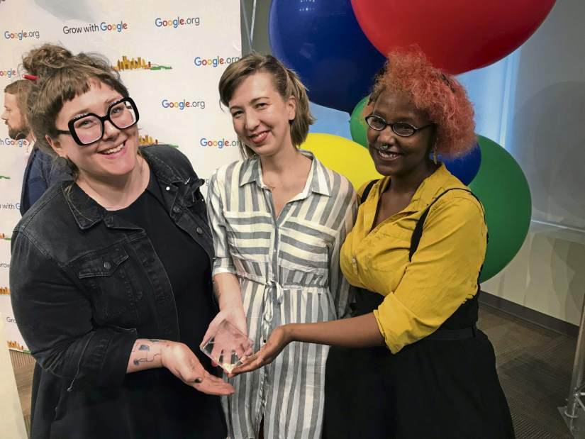 """ Google Awards $50,000 Apiece to Four Nonprofits for Economic Initiatives ""  Pittsburgh Post Gazette  February 2018"
