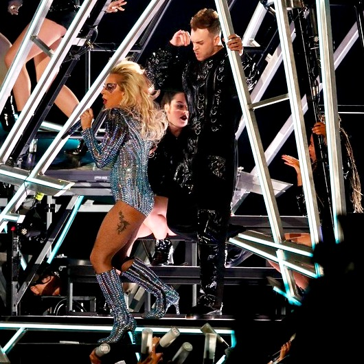 Super Bowl Halftime Show with Lady Gaga