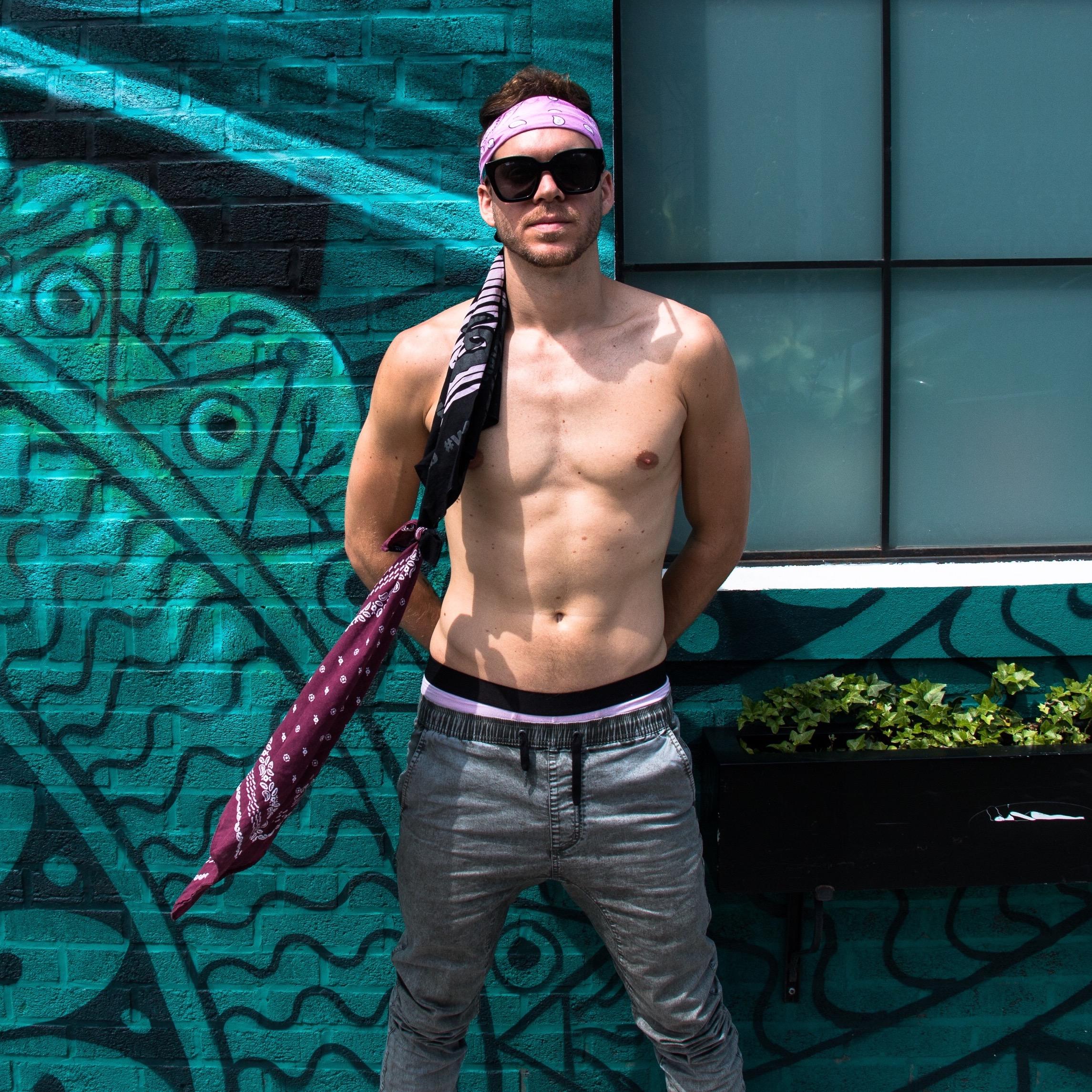 Style - Pants: ZanerobeUnderwear: MeUndiesSunglasses: PerverseBandana Ponytail: The502Kid CreationPhoto: Tarik Carroll