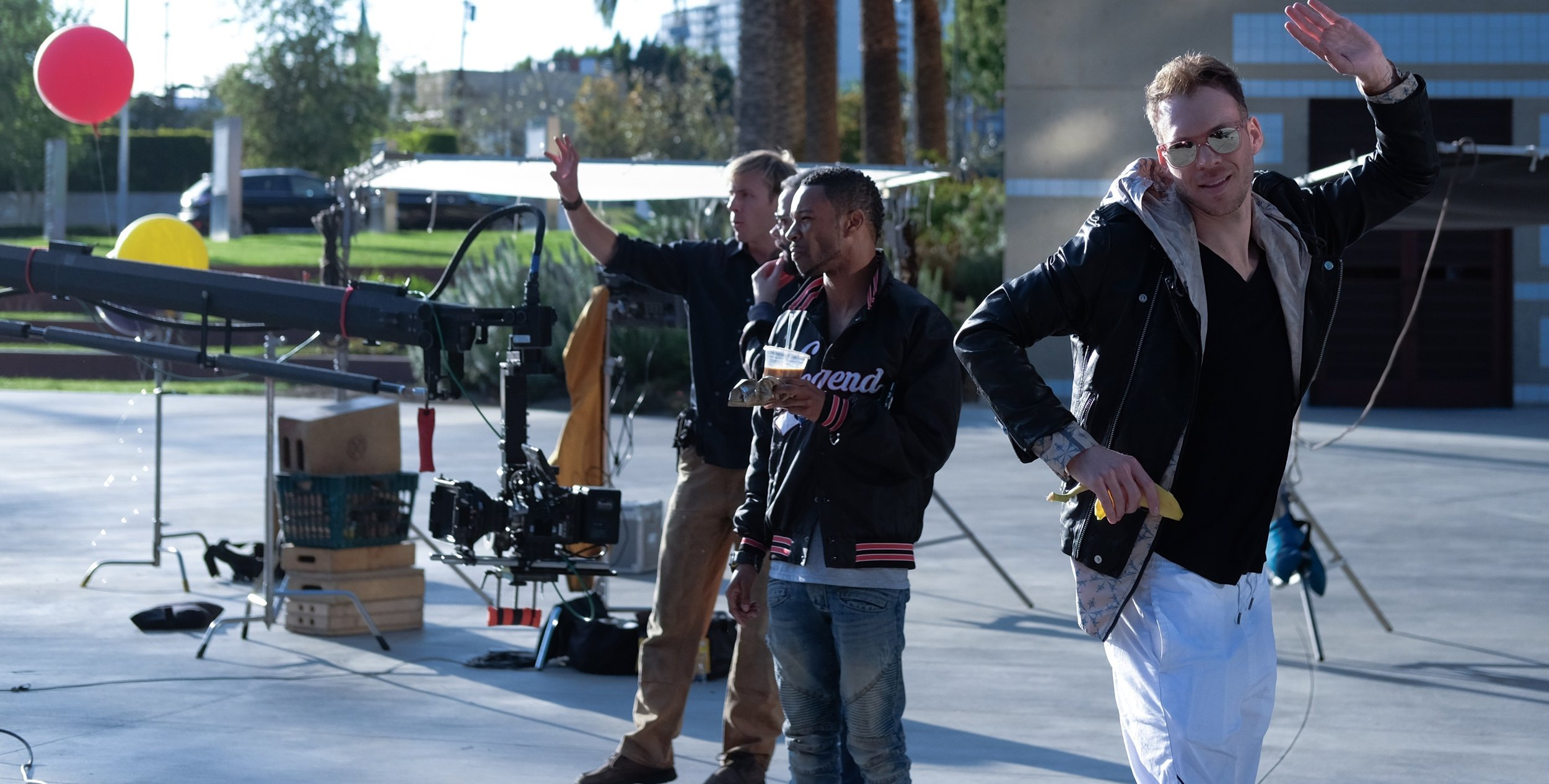 BTS of Visit West Hollywood Commercial Shoot