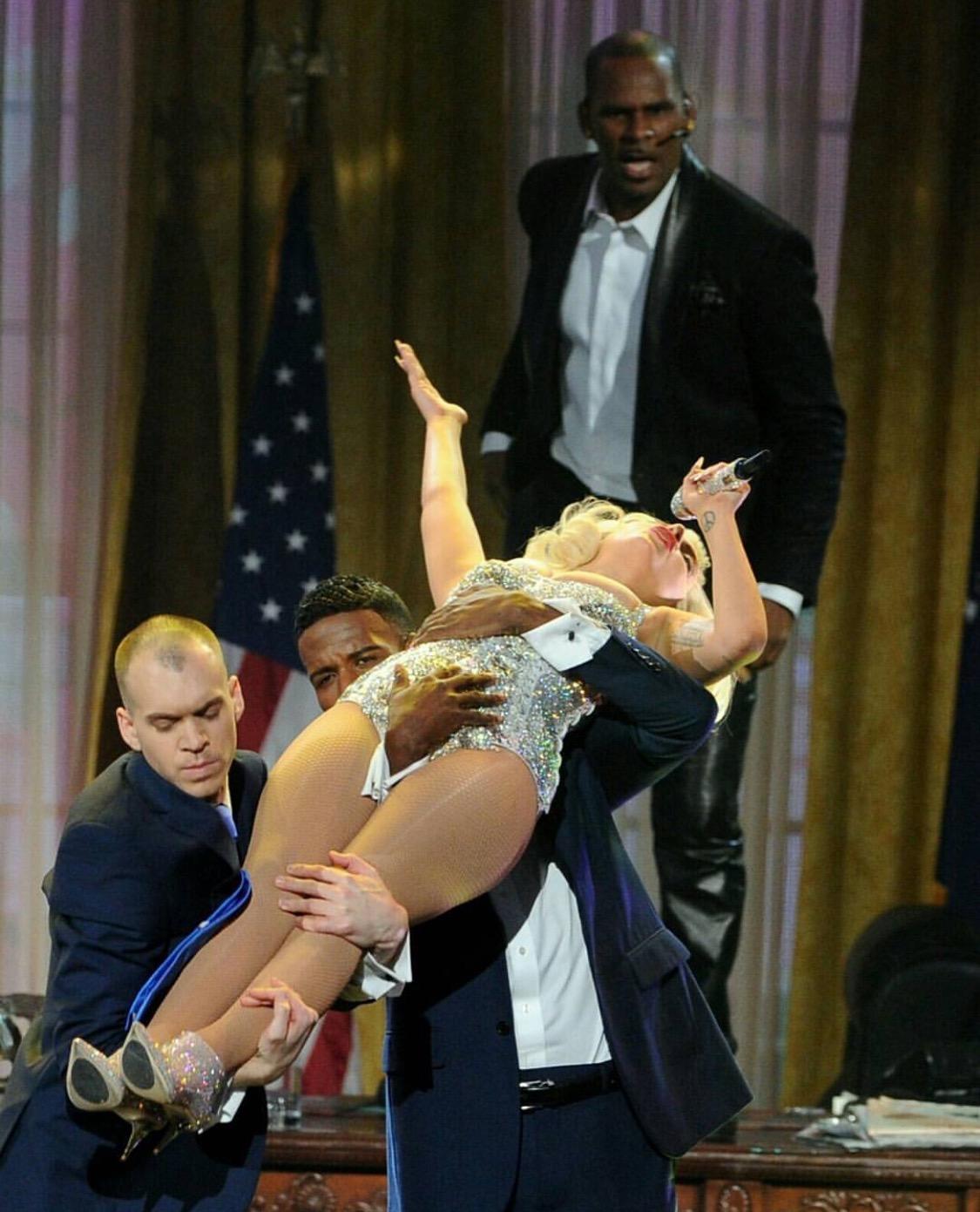 American Music Awards with Lady Gaga & R. Kelly