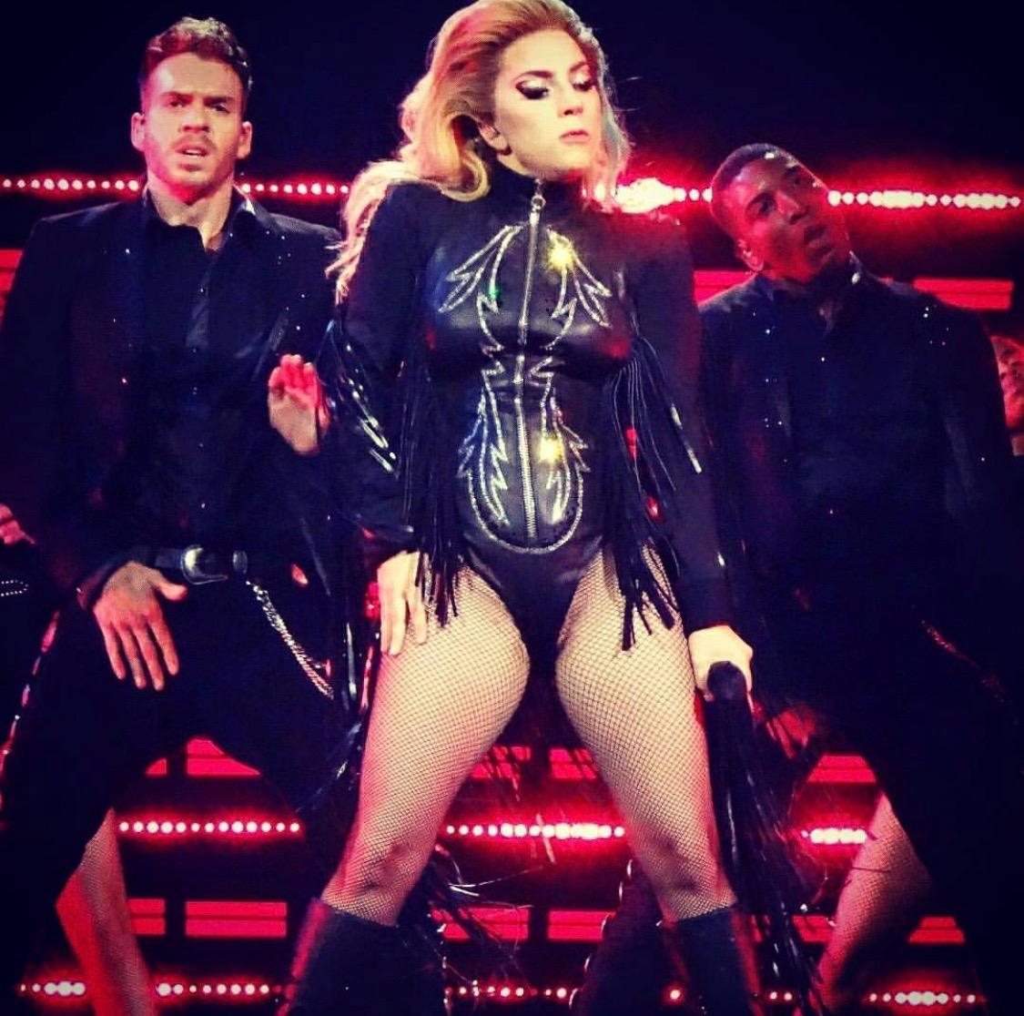 """Pokerface"" at Joanne World Tour"
