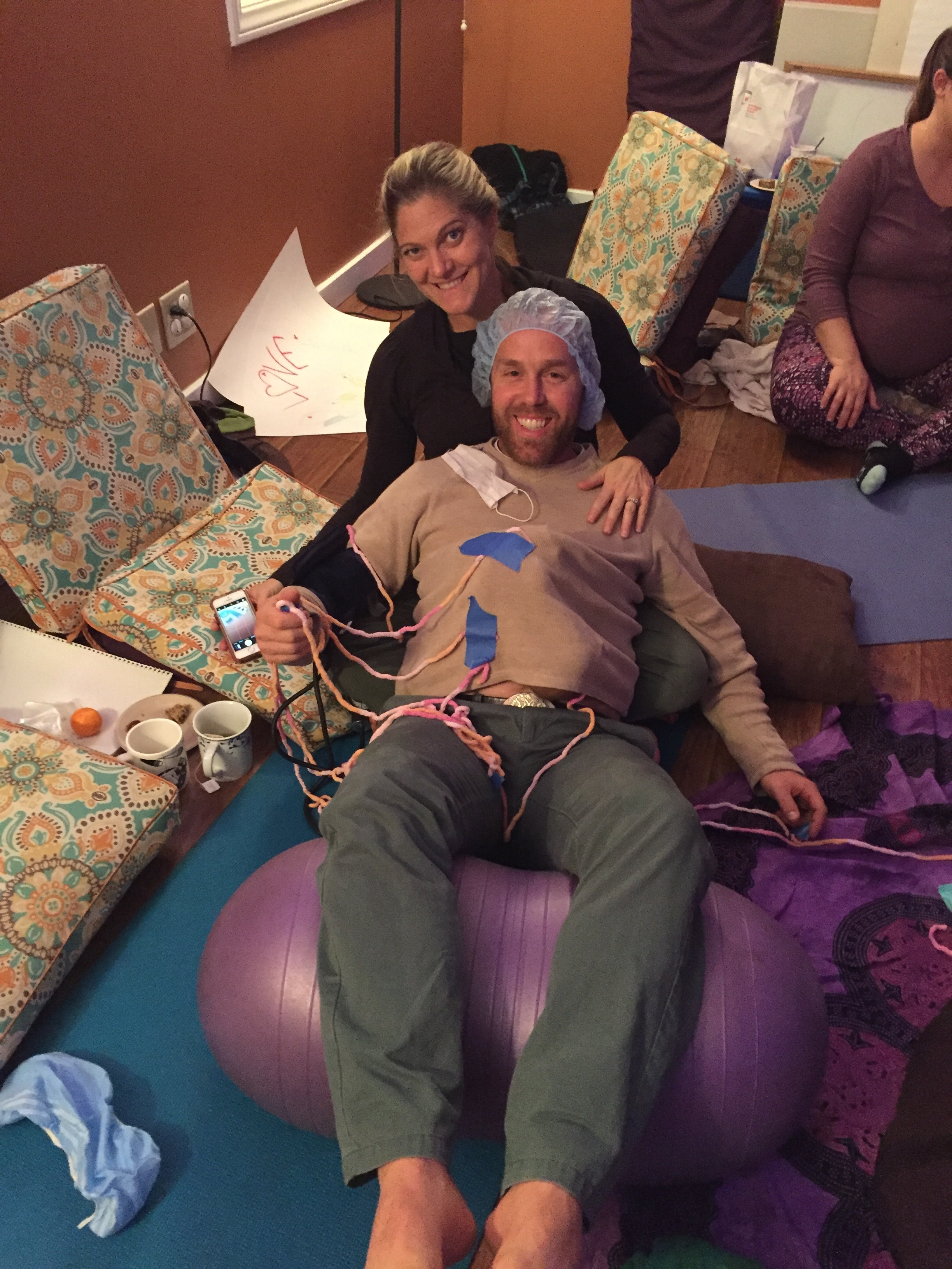birthing From within class participants experiencing medical-support-in-awareness