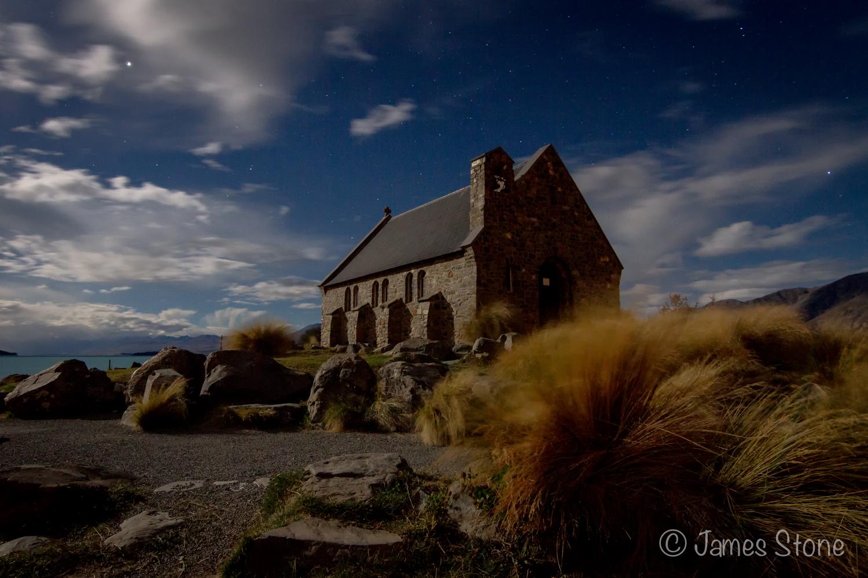 Church of the Good Shepherd @ night