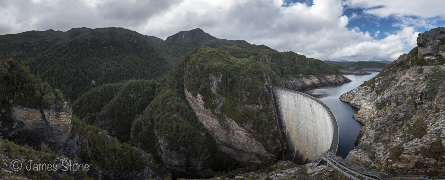 Gordon Dam pano