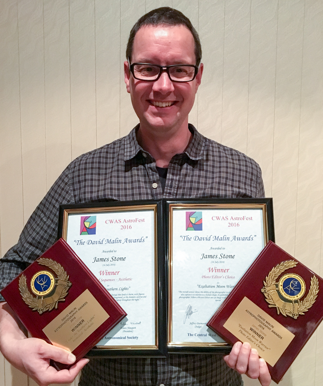 2016 CWAS David Malin Awards