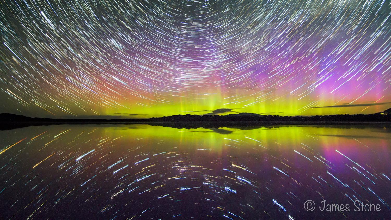 Swampy star trail