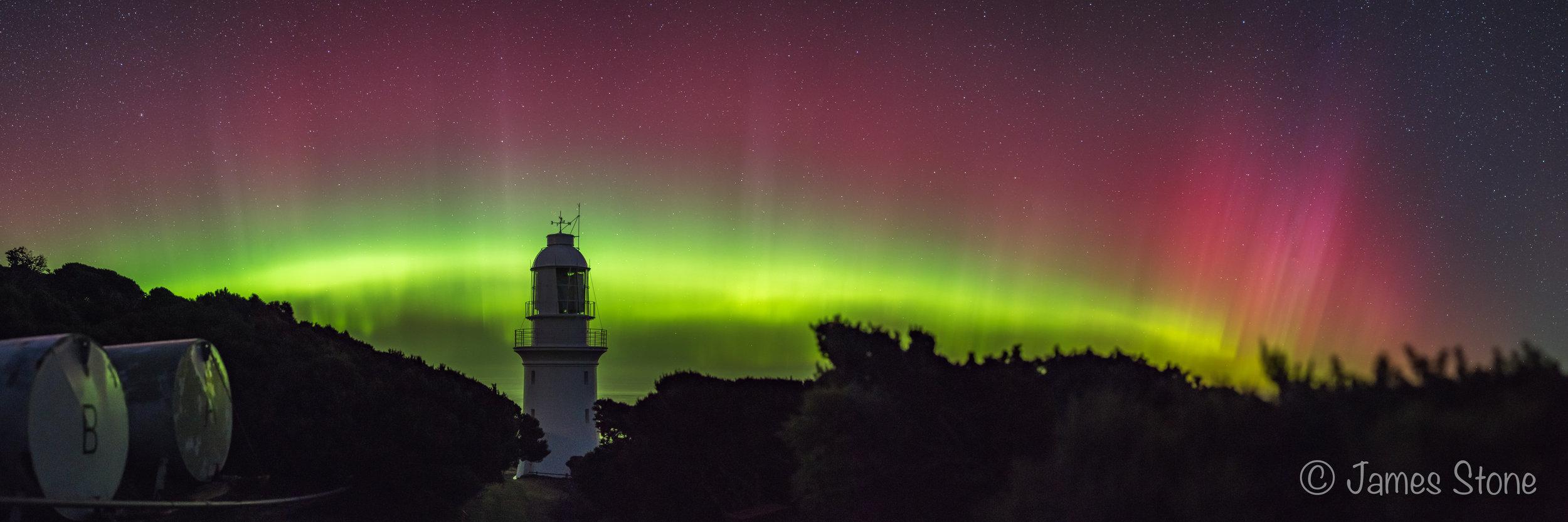 Light of the aurora