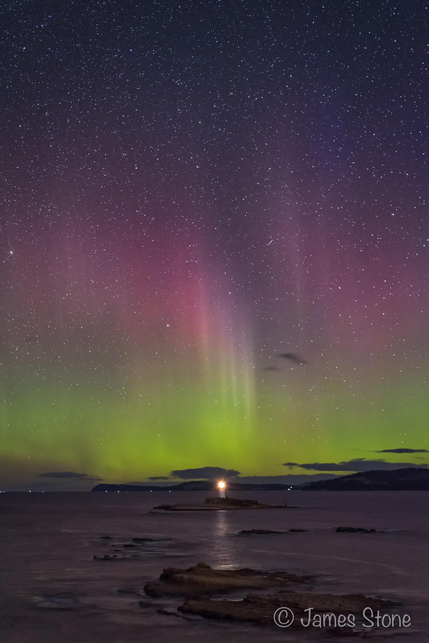 Aurora over the Iron Pot