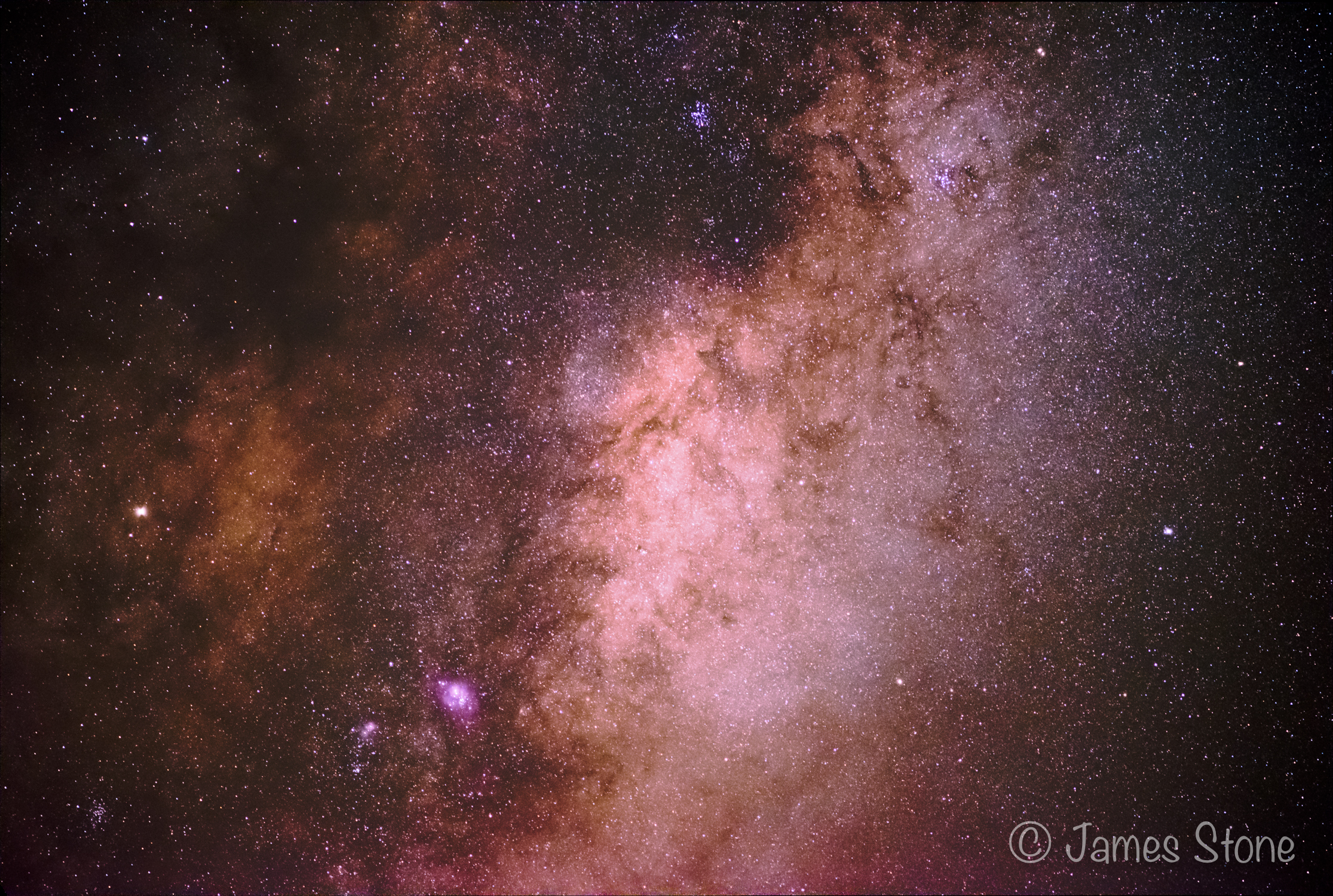 Saturn in the Galactic Core