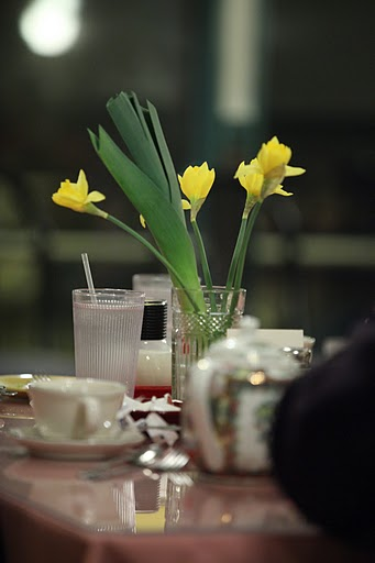Fresh Daffodils and Leeks are the hallmarks of any St. David's Day gathering.