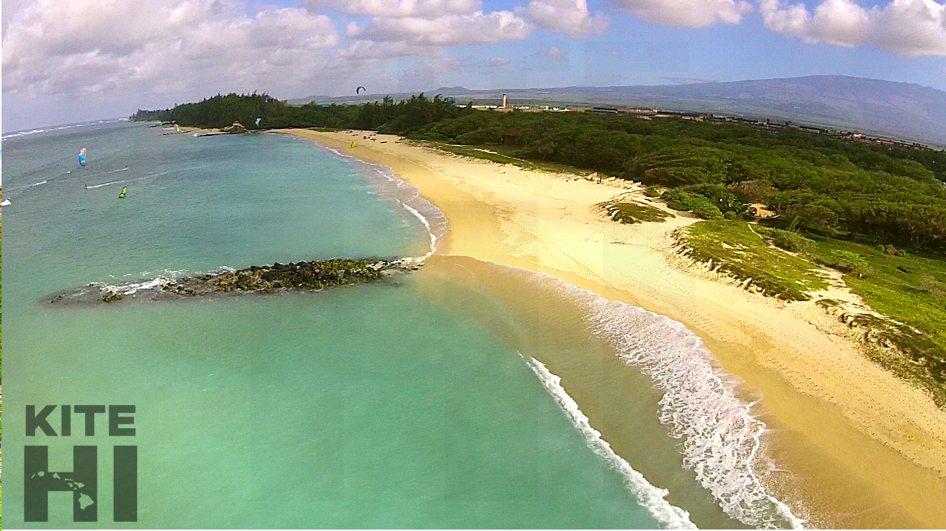 Downwind Aerial Flash beach maui.jpg