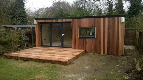 Day 12 - Deck completed with anti-slip treatment & site cleared for handover -