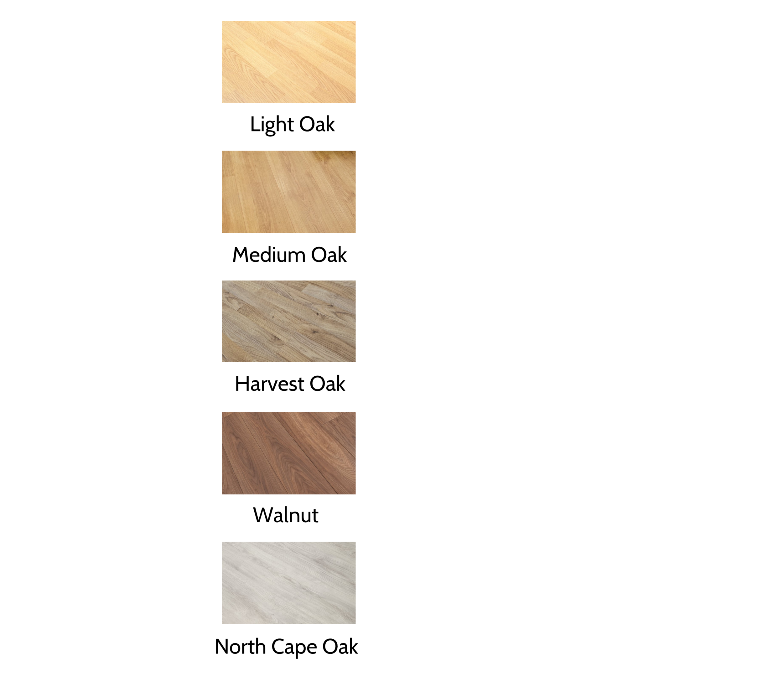 Laminate Flooring Colour Options - As an option, a choice of 5 laminate floor colours, all 7mm thick with great durability and wear-ability. Laminate flooring complements most garden room interiors, with a manufacturer's 15-year residential warranty.All laminate flooring packages come complete with foam underlay and white bullnose skirting throughout.Exclude this option if you wish to fit alternative flooring.