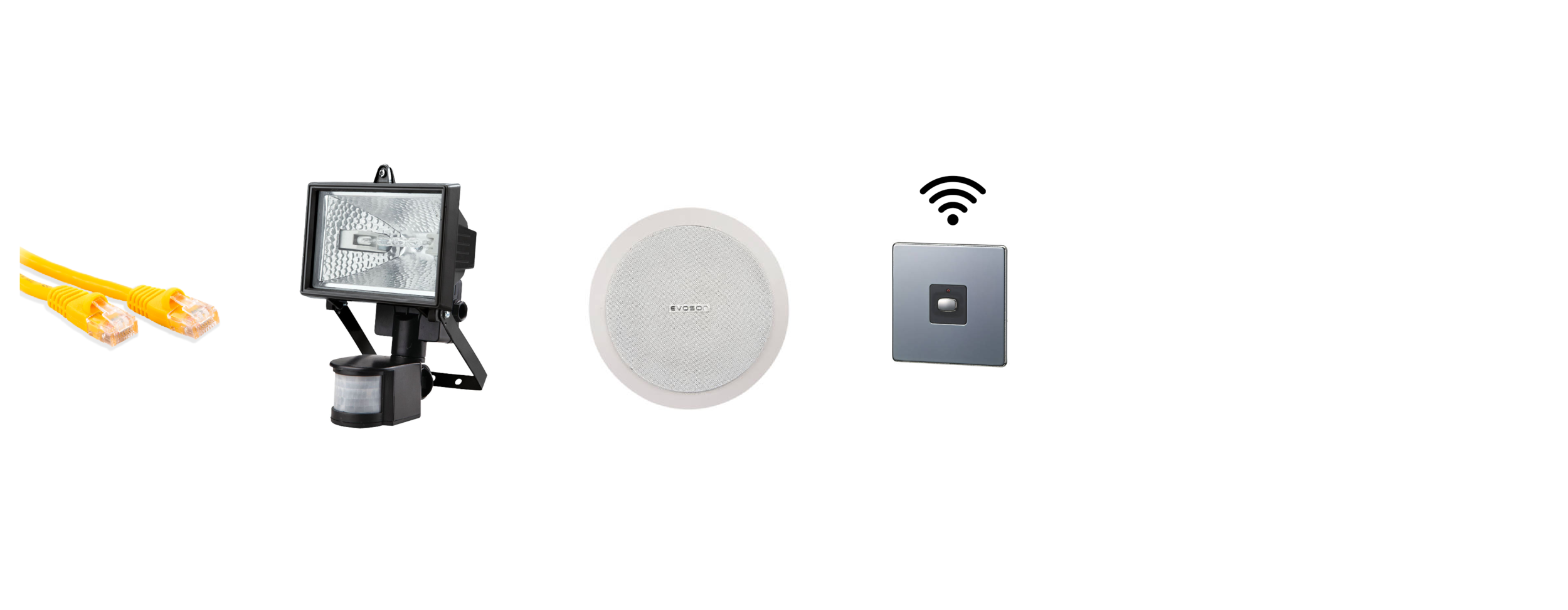 Additional Electrical Options - As options:Cat 6 cablePIR lightsSmart plug & socketsIndoor & outdoor speakers