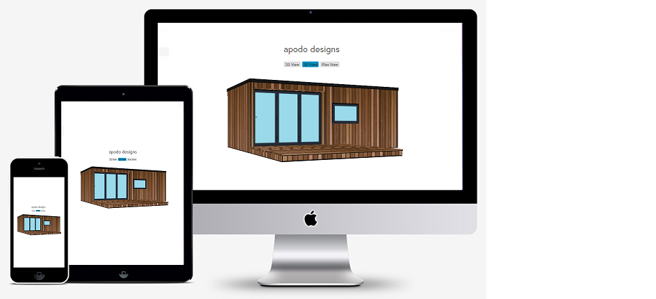 3D configurator - Our garden room install prices are built up from the different design elements that you can specify for your new garden room. You are free to choose which parts of your new garden room are the most important to you, trying out different options to suit your individual requirements and budget.All prices include, delivery, waste removal, electrical connection and VAT, there are no hidden charges