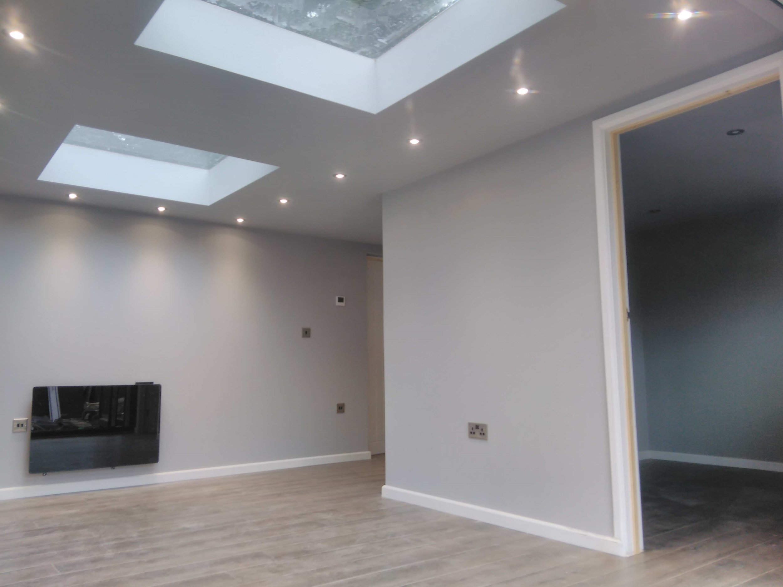 Full plasterboard & skim finish - Included as standard is a full plasterboard and skim finish to all the internal walls and ceilings.  No melamine!  This helps with acoustic performance as well as providing a quality residential feel.