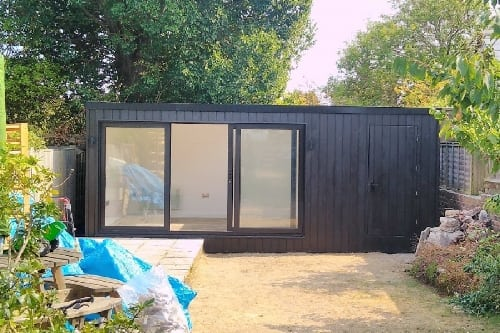 Black Siberian Larch Garden Rooms -