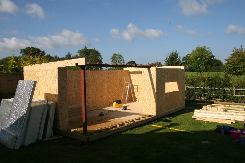 Build specification - We sometimes hear comments comparing a modern insulated garden room to no more than an insulated garden shed, for our insulated garden buildings that really isn't the case. We don't supply the cheap garden rooms that you can find made from shed like materials, instead we use residential specification materials that you would find in the build specification of any newly build home. This includes the insulation, main structure, windows and doors, roof weather proofing and external cladding among others. This results in quality buildings, that have a solid feel and will undoubtedly last the test of time. This approach does mean we are not the cheapest garden building supplier, however we do offer the most value.