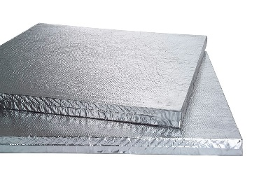 Vacuum Insulation panel - Abbreviations: VIP.Brands: Kingspan, Vacupor.Appearance: Available thinner ridged boards with a silver foil exterior finish.Thicknesses: 20mm – 60mm typically.Pros: Performs exceptionally well as an insulation material when compared to other materials of the same thickness.Cos: - Very high cost insulation material - Can not be cut to fit as this damages the vacuum integrity - difficult to install when following standard construction techniques.
