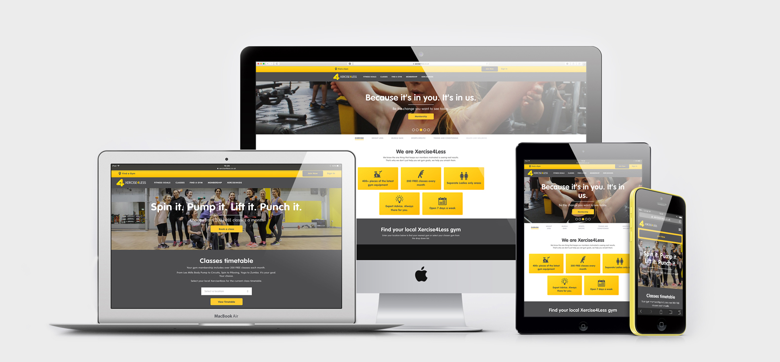Xercise4less website build - Systems and Platforms