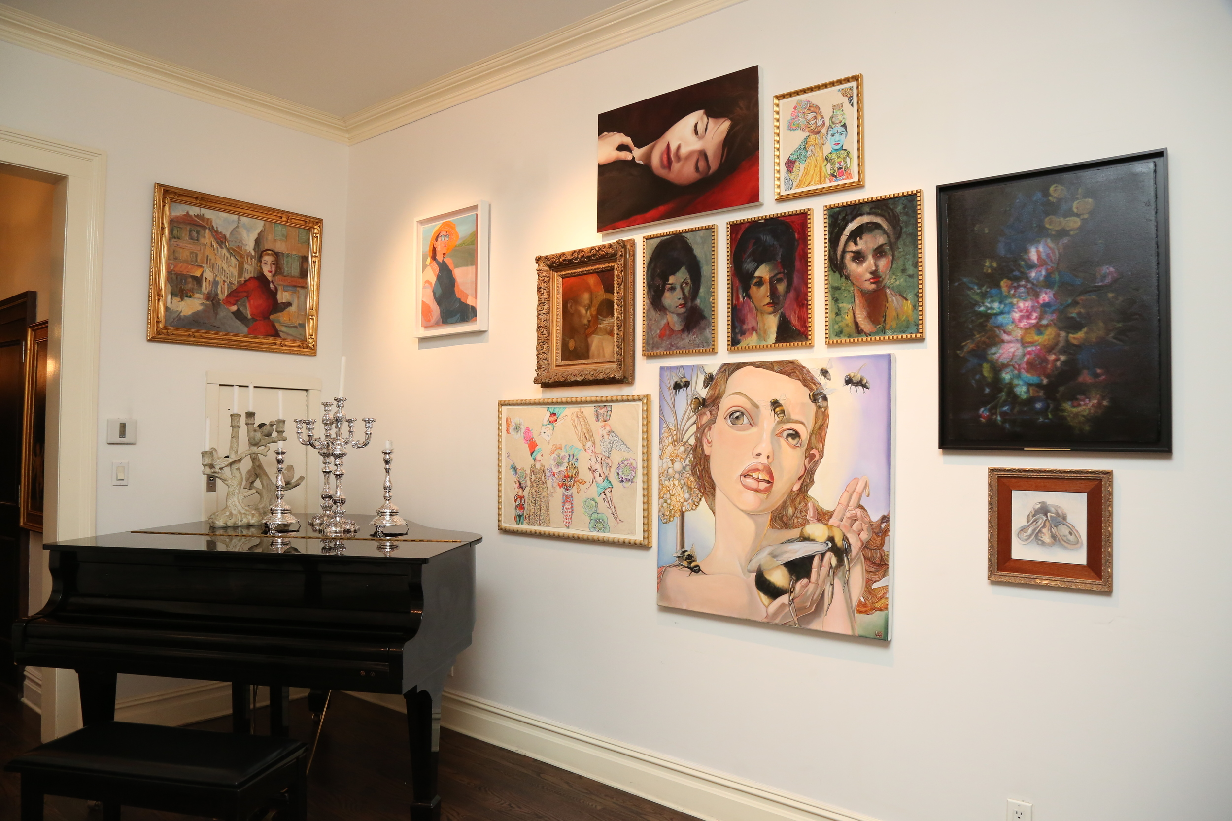 Lepore Savage Gallery's east wall. ( Photo:  Elizabeth Brooks for Molly Krause Communications)