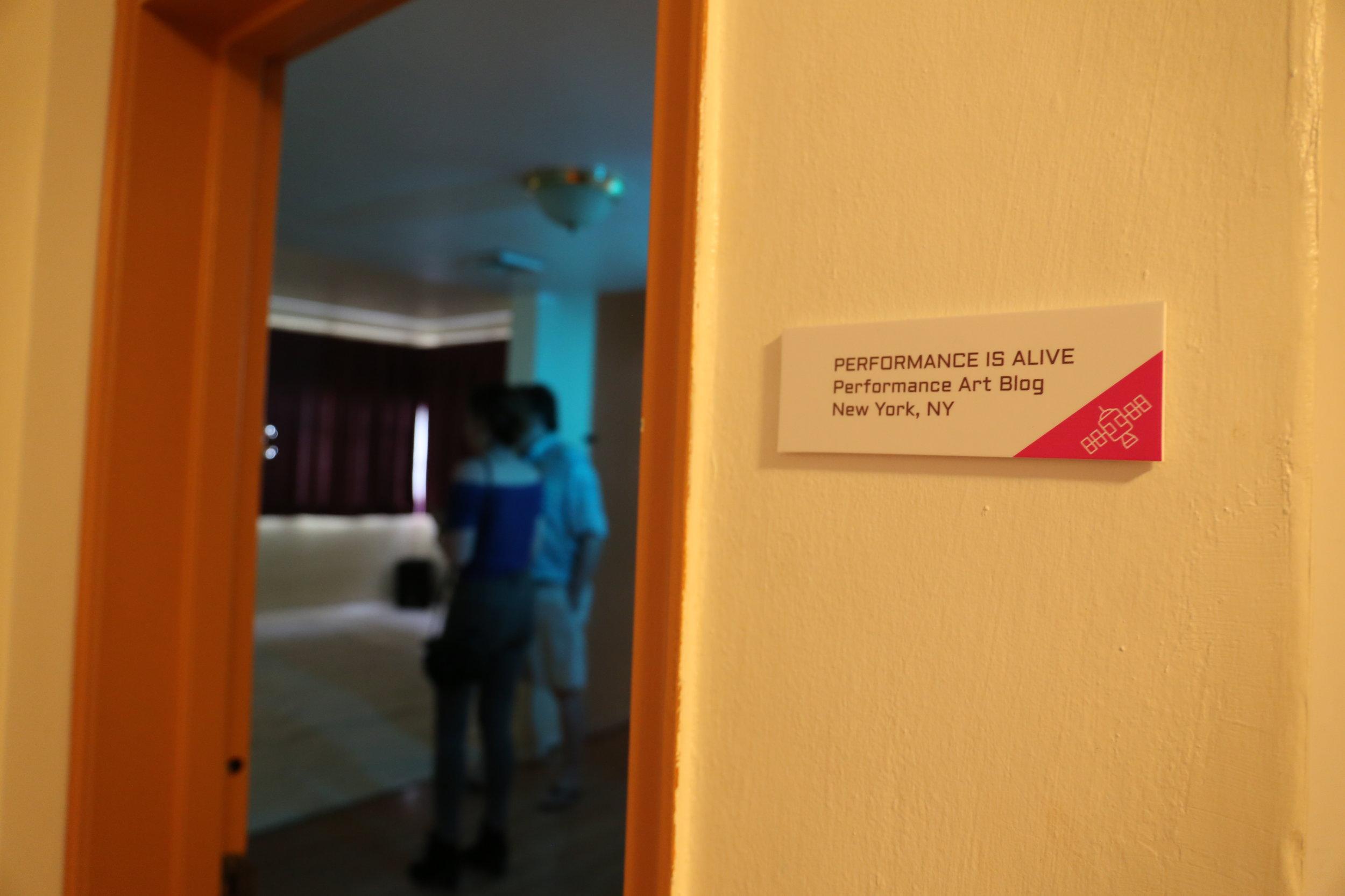 Performance is Alive (nonstop performance art lounge).JPG
