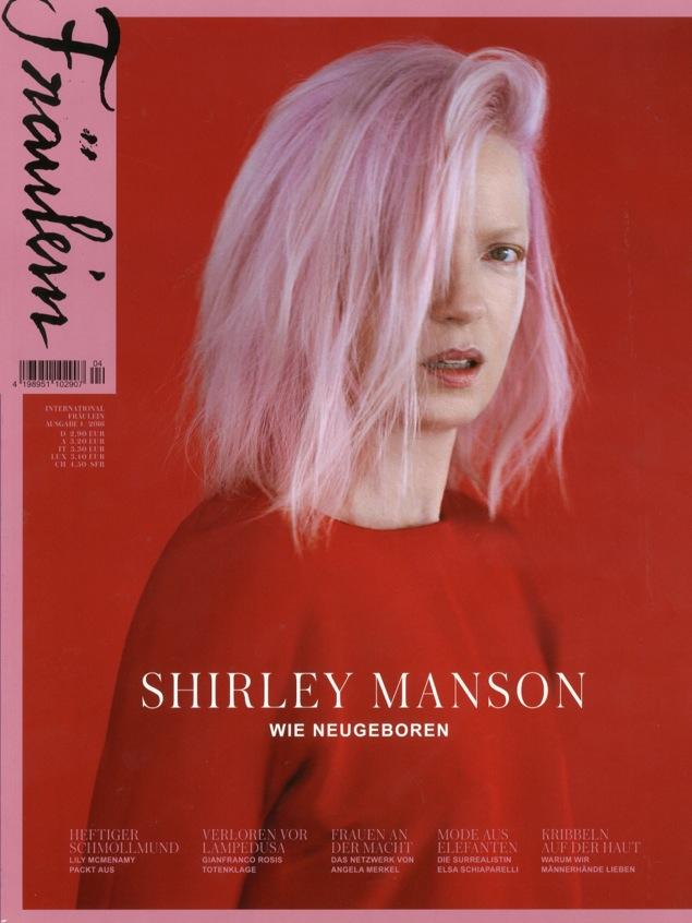 Fräulein Magazine Cover, Ausgabe 4, 2016